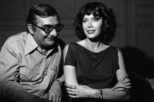 Claude Chabrol et Sylvia Kristel pendant le tournage du film « Alice ou la derniere fugue » en 1976 (Photo : SIPA.00169706_000002)