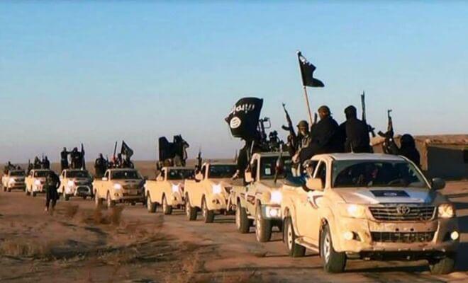 Image de propagande de Daech (Photo : SIPA.AP21655312_000005)