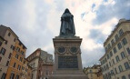La statue de Giordano Bruno,