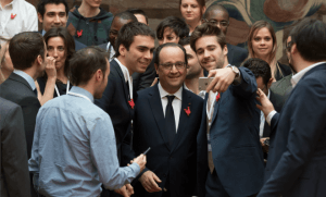 François Hollande, début mars à l'Elysée (Photo : SIPA.00745030_000002°