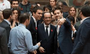 François Hollande, début mars à l'Elysée (Photo : SIPA.00745030_000002°
