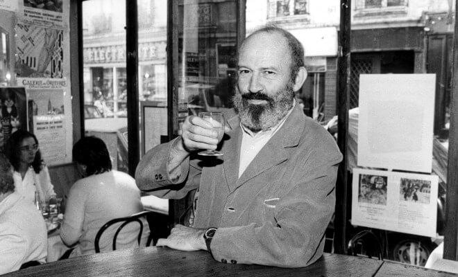 Antoine Blondin, à Paris, en 1988 (Photo : Jean Ber / Opale / Leemage)