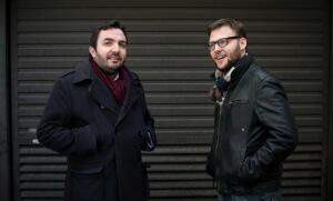 Vincent Tremolet de Villers et Alexandre Devecchio, responsables du FigaroVox. Photo: Hannah Assouline.