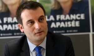 Florian Philippot, à Nîmes, début mars 2016 (Photo : SIPA.00746197_000001)