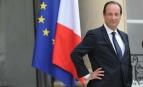 François Hollande sur le perron de l'Elysée, mi-2012 (Photo : SIPA.00638183_000012)