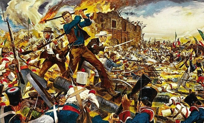 «Alamo» avec John Wayne