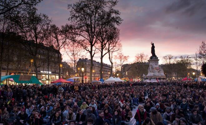 nuit debout muray finkielkraut republique