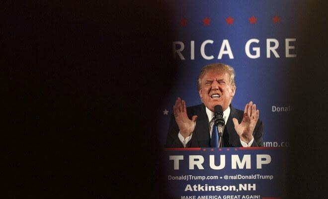 Trump: pour les médias, le candidat à abattre