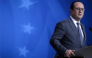 François Hollande lors d'un sommet européen à Bruxelles (Photo : SIPA.00743145_000061)