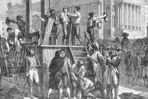 L'exécution de Robespierre (DR)