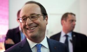 Françopis Hollande lors d'un déplacement à Annecy le 16 juin (Photo : SIPA.00760703_000001)
