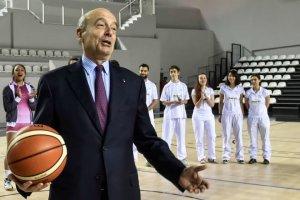 Allain Juppé inaugure le nouveau Palais des sports de Bordeaux, le 11 février 2016 (Photo : UGO AMEZ/SIPA)