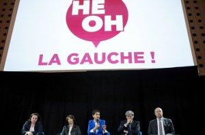 """Meeting d'""""Hé oh la gauche !"""" à Paris en avril dernier (Photo : SIPA.00752920_000005)"""