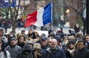 Un rassemblement à Montréal le 14 novembre 2015 (Photo : SIPA.AP21822402_000003)