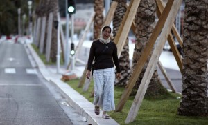 La mère d'une victime de l'attentat de Nice sur la Promenade des Anglais (Photo : SIPA.AP21922349_000043)