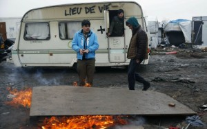 Calais, le 1er mars 2016 (Photo : SIPA.AP21864982_000022)