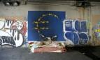 Le lit d'un sans-abri à Milan (Photo : SIPA.AP21869540_000001)