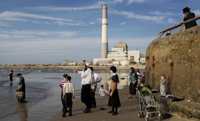 israel juifs burkini plage