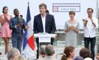 Arnaud Montebourg lors de la Fête de la rose de Frangy-en-Bresse (Photo : SIPA.00768770_000008)