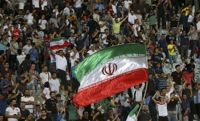 iran qatar football pasdarans