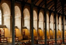 salle lecture bibliotheque sainte genevieve
