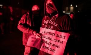 manifestation policiers viry