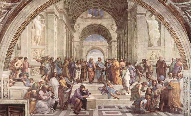 """Raphaël """"L'école d'Athènes"""""""