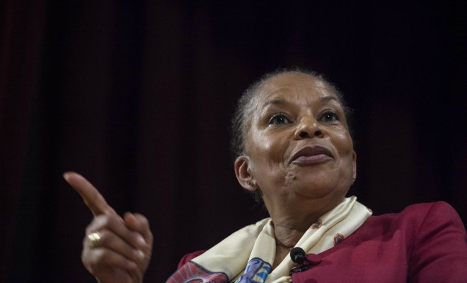 christiane taubira trump migrants