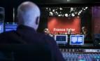 Un studio de de la radio France Inter, juin 2015. SIPA. 00759405_000013