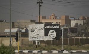 Les couleurs de Daech à Fallujah en Irak, juin 2016. SIPA. 00761837_000047