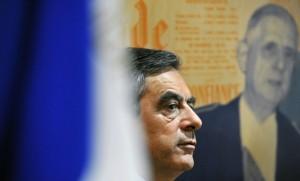 François Fillon à Lille dans la maison natale du général de Gaulle, novembre 2016. SIPA. 00780476_000010