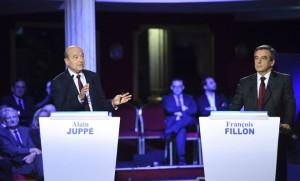 Alain Juppé et François Fillon, novembre 2016. SIPA. AP21971324_000007