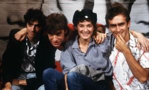 Le groupe Téléphone, octobre 1984. SIPA. 00116283_000001