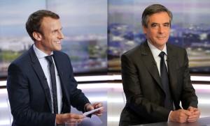 Emmanuel Macron et François Fillon.