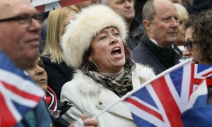 Des manifestants pro-Brexit à Londres, novembre 2016. SIPA. AP21980103_000001