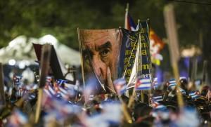 Manifestation en hommage à Fidel Castro, décembre 2016. SIPA. AP21984034_000275
