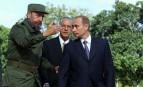 Fidel Castro et Vladimir Poutine à Cuba, décembre 2000. SIPA. REX40469349_000011