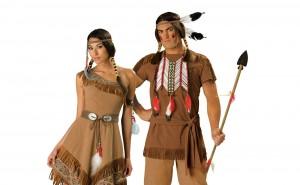Déguisements d'Indiens d'Amérique