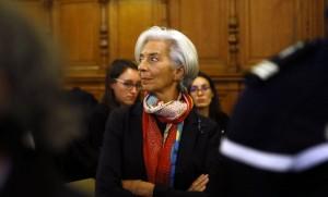 Christine Lagarde lors de son procès à Paris, décembre 2016. SIPA. AP21988367_000012