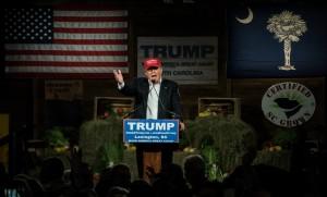 Meeting de Donald Trump en Caroline du Sud, janvier 2016.
