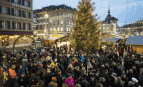 Un marché de Noël à Berne, décembre 2016. SIPA. AP21992295_000001