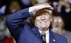 Le président élu Donald Trump lors d'un meeting à Fayetteville, décembre 2016. SIPA. AP21986017_000016