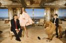 Donald Trump, sa femme Melania et son fils Barron dans leur penthouse familiale. Photo: D.R.