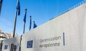Le siège de la Commission européenne à Bruxelles, janvier 2016. SIPA. 00779340_000013