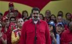 Le président vénézuelien Nicolas Maduro à Caracas, octobre 2016. SIPA. AP21967501_000010