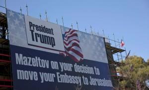 Donald Trump Israël Jérusalem ambassade américaine transfert polémique