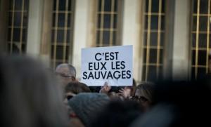Rassemblement sur le Parvis du Trocadéro à Paris pour réclamer la libération de Jacqueline Sauvage, décembre 2016. SIPA. 00784814_000018