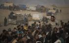Déplacés irakiens fuyant Daech, Al-Attasa. SIPA. 00781320_000023