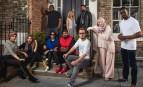 """Les participants à l'émission """"Muslims like us"""" de la BBC Two."""