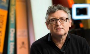 """Michel Onfray sur le plateau de """"La Grande Librairie"""" sur France 5, mars 2016. SIPA. 00747716_000005"""